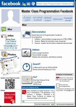 Master Class facebook