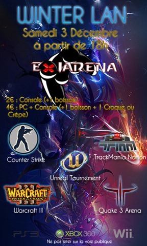 Flyer Winter LAN 2011