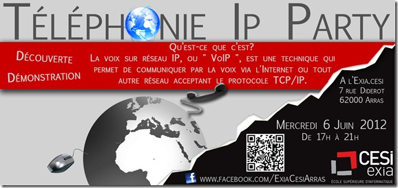 flyer_voip_party